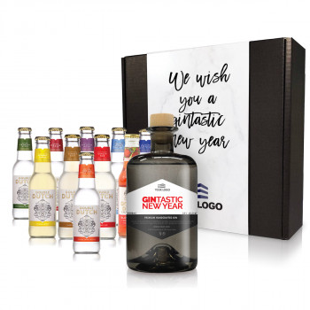 Personalised Gin & Double Dutch Tonic Pack